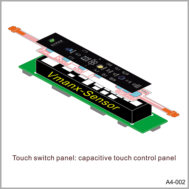 Touch switch panel: capacitive touch control panel