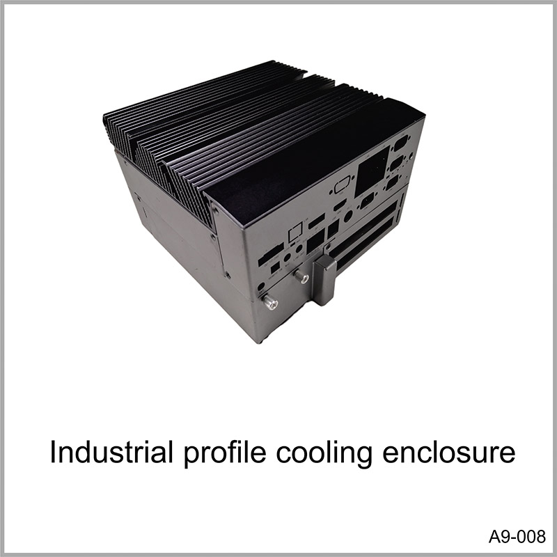 Industrial profile cooling enclosure
